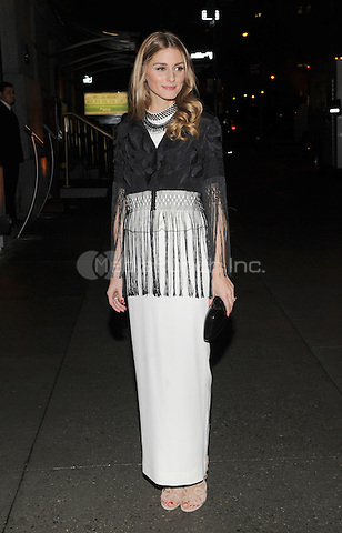 New York, NY- October 23: Olivia Palermo spotted on Wall Street attending the 31st annual FGI Night Of Stars event at Cipriani Wall Street on October 23, 2014 in New York City. Credit: John Palmer/MediaPunch