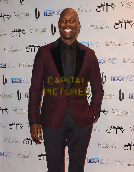 02 March 2014 - Beverly Hills, California - Tyrese Gibson.  Fame and Philanthropy Post-Oscar Gala celebrating the 86th Annual Academy Awards held at The Vineyard Beverly Hills. <br /> CAP/ADM/BT<br /> &copy;Birdie Thompson/AdMedia/Capital Pictures