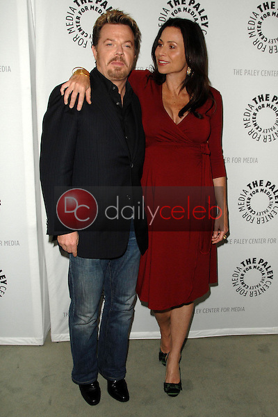 Eddie Izzard and Minnie Driver<br />