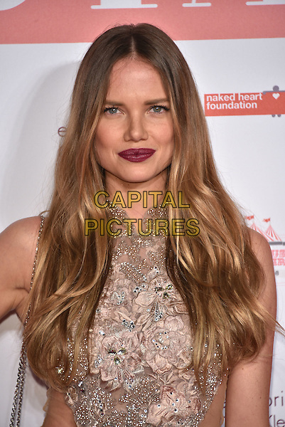 Alicia Rountree<br /> arrivals at London's Fabulous Fund Fair 2016 in aid of the Naked Heart Foundation at Old Billingsgate Market on 20th February 2016.<br /> CAP/PL<br /> &copy;Phil Loftus/Capital Pictures