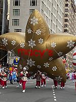 NEW YORK, NY - NOVEMBER 28: Macy's balloon at the Macy's Thanksgiving Day Parade in New York, New York on November 28, 2019.  <br /> CAP/MPI/RMP<br /> ©RMP/MPI/Capital Pictures
