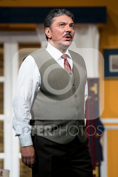 Jose Luis Gago at &quot;Usted puede ser un asesino&quot; Theater play in Mu&ntilde;oz Seca Theater, Madrid, Spain, September 07, 2015. <br /> (ALTERPHOTOS/BorjaB.Hojas)