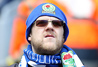 Blackburn Rovers fans soak up the pre-match atmosphere<br /> <br /> Photographer Rich Linley/CameraSport<br /> <br /> The EFL Sky Bet Championship - Blackburn Rovers v Preston North End - Saturday 9th March 2019 - Ewood Park - Blackburn<br /> <br /> World Copyright © 2019 CameraSport. All rights reserved. 43 Linden Ave. Countesthorpe. Leicester. England. LE8 5PG - Tel: +44 (0) 116 277 4147 - admin@camerasport.com - www.camerasport.com
