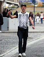 "COPY BY TOM BEDFORD<br /> Pictured: Tom Richards out and about in Swansea. STOCK PICTURE<br /> Re: Danniella Westbrook's cagefighter ex-boyfriend is about to become a dad after falling for another older woman.<br /> Serial toyboy Tom Richards, 27, told friends Danniela, 43, ""can't hold a candle"" to his new love - brunette Cath Hughes who is a month away from giving birth.<br /> Richards kept the pregnancy secret after discovering his old flame Daniela suffered a miscarriage last year.<br /> But he and Cath, 32, have shown friends a 3D scan of the baby boy due in May.<br /> A pal of the couple said: ""Tom kept the lid on it after finding out that Danniela had lost her baby.<br /> ""He's moved on but he didn't want to rub her nose in it by announcing he's going to be a dad.<br /> ""He's found himself a good woman, she's a bit older than him but she's a good influence."""