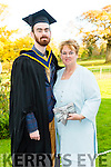 Graduating from IT Tralee with a Bachelor of Science, Computing with Multimedia was Aki O'Rourke with Mom Gretta O'Rourke on Friday