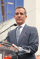 LOS ANGELES, CA -APRIL 7: Eric Garcetti, at Grand Opening Of The Los Angeles LGBT Center's Anita May Rosenstein Campus at Anita May Rosenstein Campus in Los Angeles, California on April 7, 2019.<br /> CAP/MPIFS<br /> ©MPIFS/Capital Pictures