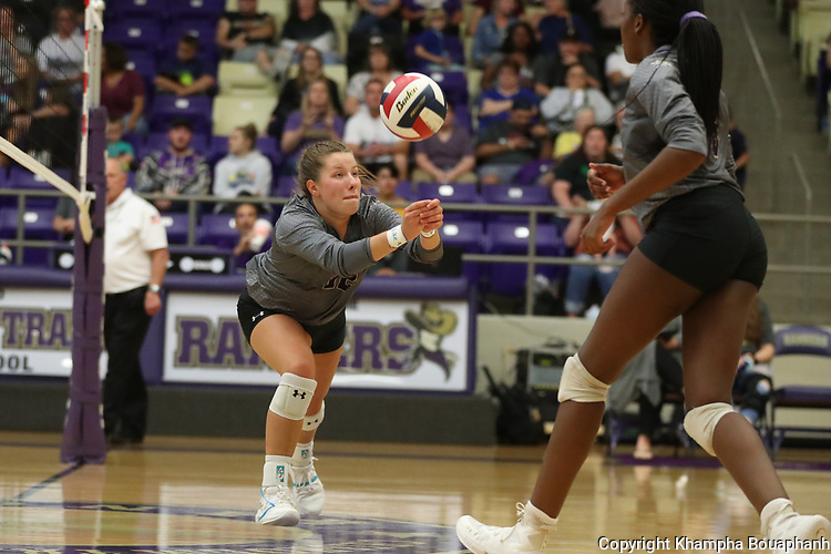 Chisholm Trail beats Brewer 3-1 in 5A high school volleyball on Friday, September 13, 2019. (Photo by Khampha Bouaphanh