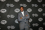 Michael Strahan at FOX Sports 1 celebrates the official Thursday Night Super Bash at Time Warner Cable Studios. Hosts Michael Strahan and Erin Andrews Superbowl week, NY