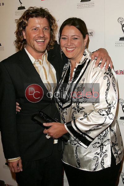 Patrick Davenport and Camryn Manheim<br />at the party honoring the 57th Annual Primetime Emmy Awards Nominees for Outstanding Performing Talent, hosted by the Academy of Television Arts and Sciences. Spago, Beverly Hills, CA. 09-16-05<br />Dave Edwards/DailyCeleb.Com 818-249-4998