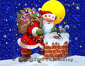 GIORDANO, CHRISTMAS SANTA, SNOWMAN, WEIHNACHTSMÄNNER, SCHNEEMÄNNER, PAPÁ NOEL, MUÑECOS DE NIEVE, paintings+++++,USGI2075M1,#X#