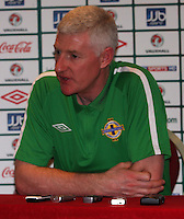 Northern Ireland Carling Nations Cup Presser 080211