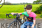 Beaufort cyclist Patrick Gavin who has been called up to the Irish team