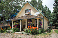 Crested Butte Home with Flowers