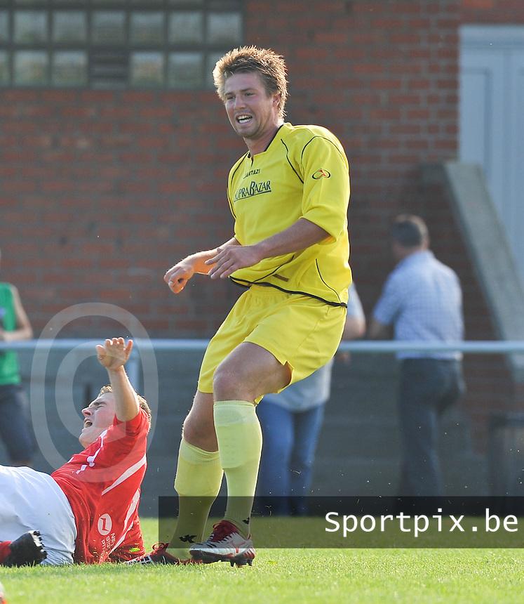 VV Tielt : Glenn Delegrense.foto VDB / BART VANDENBROUCKE
