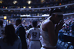 DALLAS, TX - APRIL 2: A'ja Wilson #22 of the South Carolina Gamecocks prays before South Carolina takes on Mississippi State during the 2017 Women's Final Four at American Airlines Center on April 2, 2017 in Dallas, Texas. (Photo by Evert Nelson/NCAA Photos via Getty Images)