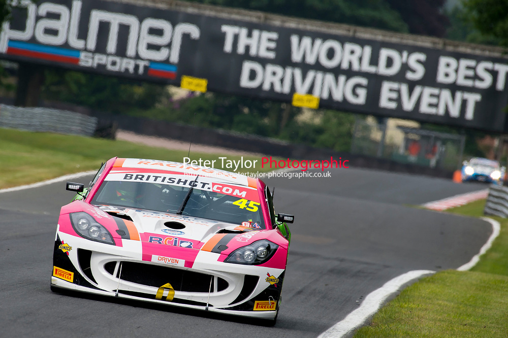 British GT Championship – Oulton Park – 28th-30th May 2016