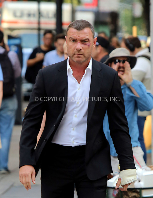 www.acepixs.com<br /> <br /> August 9 2017, New York City<br /> <br /> Actor Liev Schreiber was on the set of the TV show 'Ray Donovan' on August 9 2017 in New York City<br /> <br /> By Line: Philip Vaughan/ACE Pictures<br /> <br /> <br /> ACE Pictures Inc<br /> Tel: 6467670430<br /> Email: info@acepixs.com<br /> www.acepixs.com