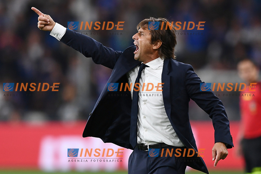 Antonio Conte coach of FC Internazionale <br /> Genova 28-09-2019 Stadio Luigi Ferraris Football Serie A 2018/2019 Sampdoria - FC Internazionale  <br /> Photo Image Sport / Insidefoto