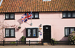 Bed and breakfast accommodation in pink cottage, Aldeburgh, Suffolk, Englands