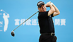 TAIPEI, TAIWAN - NOVEMBER 19:  Glyn Davies of Wales tees off on the 1st hole during day two of the Fubon Senior Open at Miramar Golf & Country Club on November 19, 2011 in Taipei, Taiwan.  Photo by Victor Fraile / The Power of Sport Images