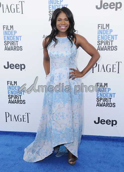 25 February 2017 - Santa Monica, California - Edwina Findley Dickerson. 2017 Film Independent Spirit Awards held held at the Santa Monica Pier. Photo Credit: Birdie Thompson/AdMedia