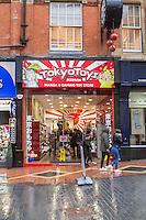 Shop Front Corporation Street Birmingham