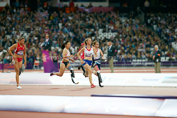London Paralympic Games Athletics 2.9.12