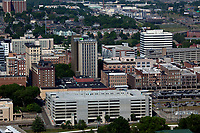 aerial photograph of Knoxville, Knox County, Tennessee