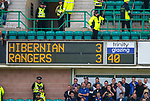 13.05.2018 Hibs v Rangers: 3-3 at half time
