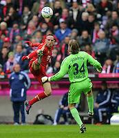 Fussball Bundesliga 2011/12: FC Bayern Muenchen - FC Schalke 04