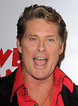 David Hasselhoff at the The Pee-Wee Herman Show Opening Night held at Club Nokia at L.A. Live in Los Angeles, California on January 20,2010                                                                   Copyright 2009 DVS / RockinExposures