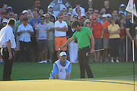 Robert Rock (ENG) on the third day of the DUBAI WORLD CHAMPIONSHIP presented by DP World, Jumeirah Golf Estates, Dubai, United Arab Emirates.Picture Denise Cleary www.golffile.ie
