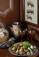 Europe/France/Bretagne/29/Finistère/Quimper: Ragoût de porc à la bigoudenne