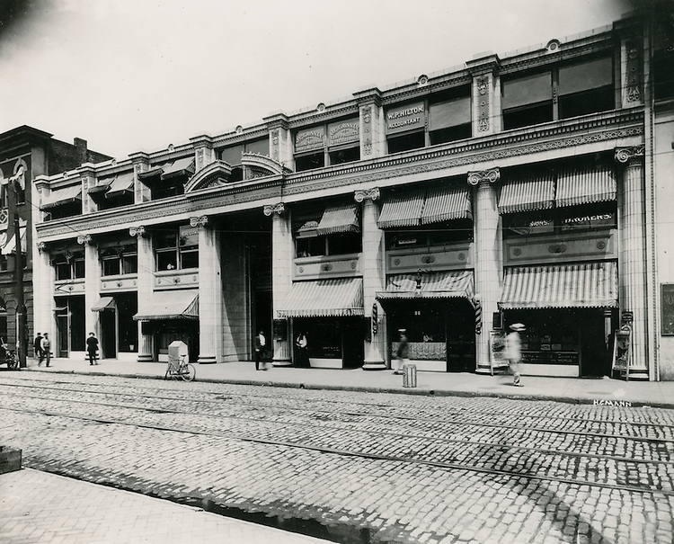 UNDATED..Historical   Downtown      ..Monticello Arcade from City Hall Ave?...NEG#..
