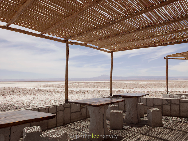 Road rest stop in the Atacama desert, Chile