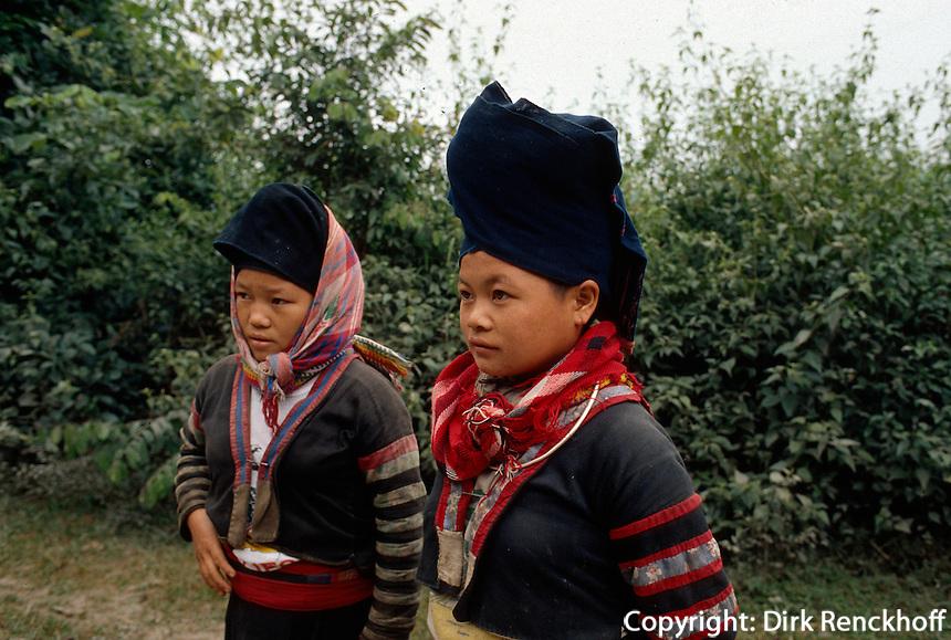 ethnische Minderheit in der Lai Chau-Provinz, Vietnam