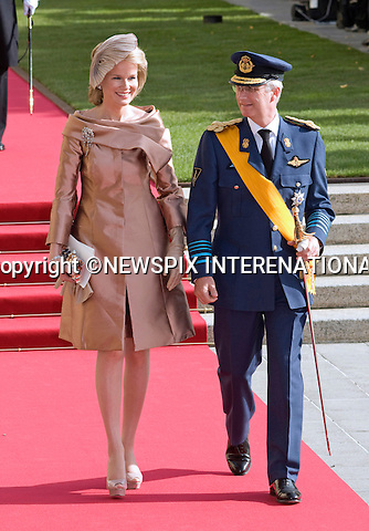 "PRINCE PHILIPPE AND PRINCESS MATHILDE OF BELGIUM.Religious Wedding Ceremony of HRH the Hereditary Grand Duke and Countess Stéphanie de Lannoy at Cathedral of Our lady of Luxembourg, Luxembourg_20-10-2012.Mandatory credit photo: ©Dias/NEWSPIX INTERNATIONAL..(Failure to credit will incur a surcharge of 100% of reproduction fees)..                **ALL FEES PAYABLE TO: ""NEWSPIX INTERNATIONAL""**..IMMEDIATE CONFIRMATION OF USAGE REQUIRED:.Newspix International, 31 Chinnery Hill, Bishop's Stortford, ENGLAND CM23 3PS.Tel:+441279 324672  ; Fax: +441279656877.Mobile:  07775681153.e-mail: info@newspixinternational.co.uk"