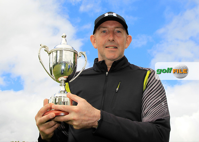 Tony McClements (Holywood) winner of the Irish Mid-Amateur Open Championship at New Forest on Sunday 21st June 2015.<br /> Picture:  Thos Caffrey / www.golffile.ie