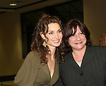 "All My Children's Alicia Minshew ""Kendall Hart Slater"" with fans as she signs ""Kendall's"" new novel ""Charm"" for fans on February 20, 2008 at Barnes & Noble in Clifton, New Jersey. (Photo by Sue Coflin/Max Photos)"