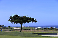 View from the 5th hole of Monterey Peninsula CC during Saturday's Round 3 of the 2018 AT&amp;T Pebble Beach Pro-Am, held over 3 courses Pebble Beach, Spyglass Hill and Monterey, California, USA. 10th February 2018.<br /> Picture: Eoin Clarke | Golffile<br /> <br /> <br /> All photos usage must carry mandatory copyright credit (&copy; Golffile | Eoin Clarke)