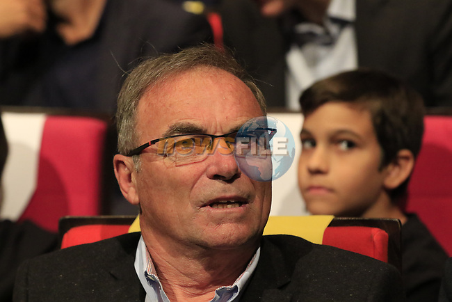 Former Tour Champion Bernard Hinault (FRA) at the Tour de France 2020 route presentation held in the Palais des Congrès de Paris (Porte Maillot), Paris, France. 15th October 2019.<br /> Picture: Eoin Clarke | Cyclefile<br /> <br /> All photos usage must carry mandatory copyright credit (© Cyclefile | Eoin Clarke)