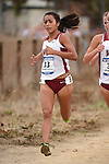 November 1, 2014; Sunnyvale, CA, USA; Loyola Marymount Lions runner Grace Graham-Zamudio (33) competes during the WCC Cross Country Championships at Baylands Park.