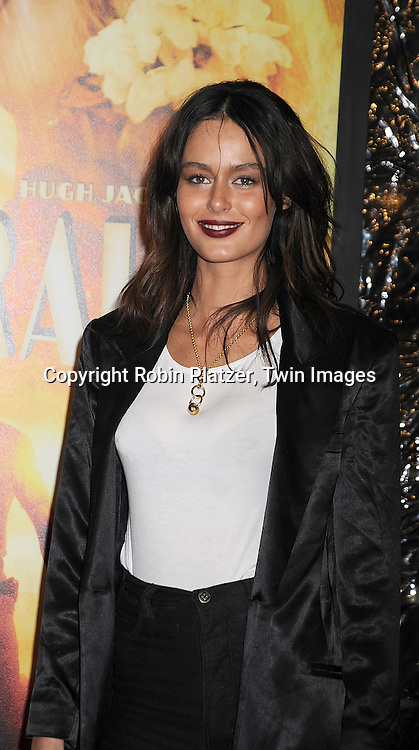 "Nicole Trunfio..posing for photographers at The New York Movie Premiere of ""Australia"" on November 24, 2008 at The Ziegfeld Theatre. ....Robin Platzer, Twin Images....212-935-0770"