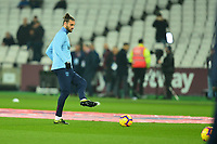 Andy Carroll of West Ham United warms up  during West Ham United vs Fulham, Premier League Football at The London Stadium on 22nd February 2019