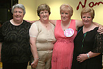 Eileen Thornton with her sisters Bridie Murray, Rosie Matthews and Joan Lynch at her 60th in Nano Reids...Photo NEWSFILE/Jenny Matthews.(Photo credit should read Jenny Matthews/NEWSFILE)....This Picture has been sent you under the condtions enclosed by:.Newsfile Ltd..The Studio,.Millmount Abbey,.Drogheda,.Co Meath..Ireland..Tel: +353(0)41-9871240.Fax: +353(0)41-9871260.GSM: +353(0)86-2500958.email: pictures@newsfile.ie.www.newsfile.ie.FTP: 193.120.102.198.