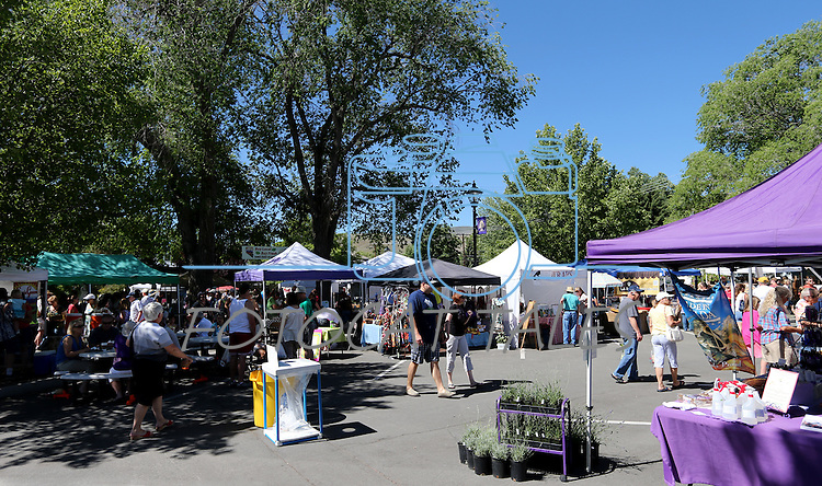 Images from the Saturday Morning Farmers's Market at 3rd & Curry Streets, in Carson City, Nev., on Saturday, June 8, 2013. <br /> Photo by Cathleen Allison