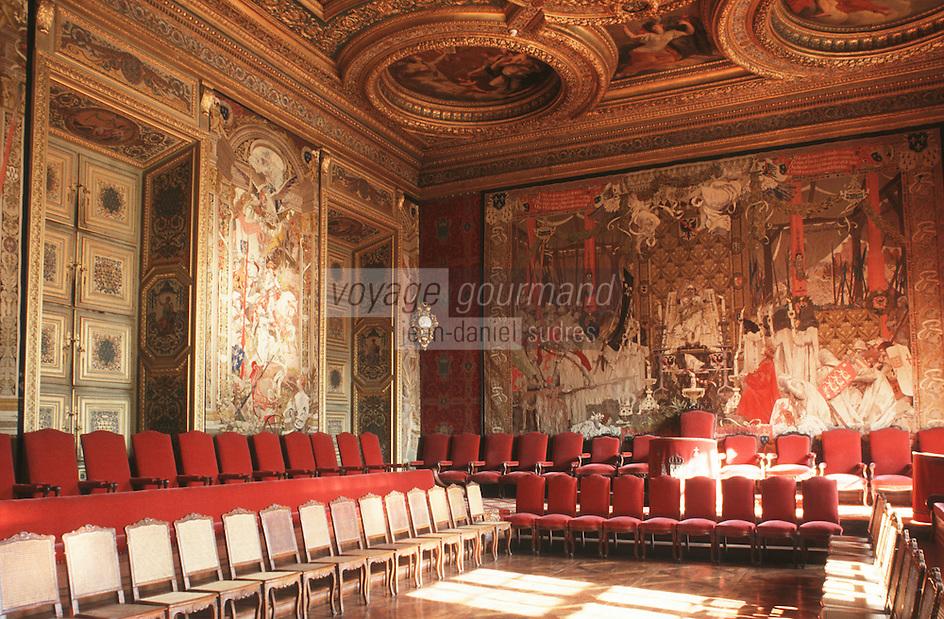 Ille-et-Vilaine/Rennes : Palais de justice - La grande chambre