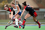Canterbury Women's Hockey final match between <br /> Harewood and HSOB at Marist Park, Christchurch, New Zealand. Saturday 26 August 2017. Martin Hunter / www.bwmedia.co.nz