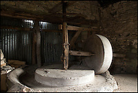 BNPS.co.uk (01202 558833)<br /> Pic: Strutt&amp;Parker/BNPS<br /> <br /> The old cider press comes with the property.<br /> <br /> This picturesque home in the heart of the bucolic Slad valley where Laurie Lee grew up is the perfect place to enjoy the idyllic country life - and you can even make your own cider for Rosie.<br /> <br /> The Grade II listed Knapp House, which has a cider press in the next-door barn, is believed to be the spot where the cider referred to in the famous book was made.<br /> <br /> The beautiful Cotswolds property is set in the Slad Valley, which was immortalised in the novel and is where the author spent his childhood.<br /> <br /> Now one lucky buyer can follow in Laurie Lee's footsteps as the property is on the market for &pound;2million with Strutt &amp; Parker.