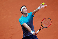 Leonardo Mayer, Argentina, during Madrid Open Tennis 2018 match. May 9, 2018.(ALTERPHOTOS/Acero) /NortePhoto NORTEPHOTOMEXICO